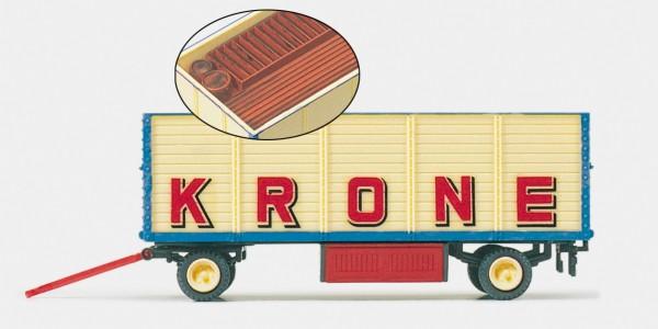 """Preiser 21021 - H0 - Packwagen """"Zirkus Krone"""" offen"""