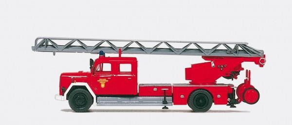 Preiser 31265 - H0 - Magirus Drehleiter DL 30 Staffelfahrerhaus