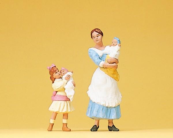Preiser 45060 - G - Kindermädchen mit Kinder