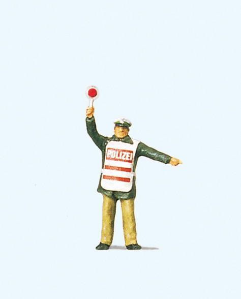 Preiser 28012 - H0 - Polizist mit Warnweste