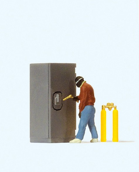 Preiser 29104 - Safeknacker