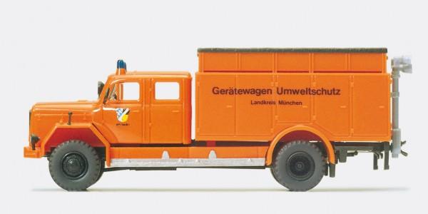Preiser 35016 - H0 - Gerätewagen Umweltfahrzeug Magirus F 200