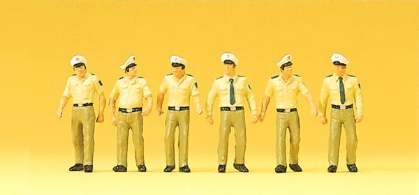 Preiser 10340 - Polizisten in Sommeruniform gehend