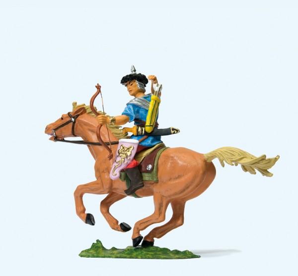 Preiser 50480 - 1:25 - Hunne zu Pferd, Pfeil ziehend