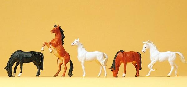 Preiser 10156 - H0 - Pferde