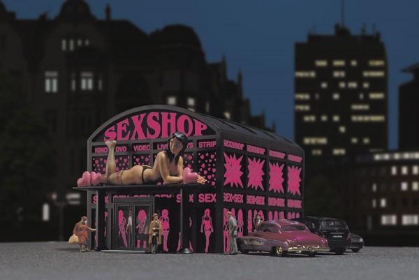 Busch 1004 - H0 - Sex-Shop