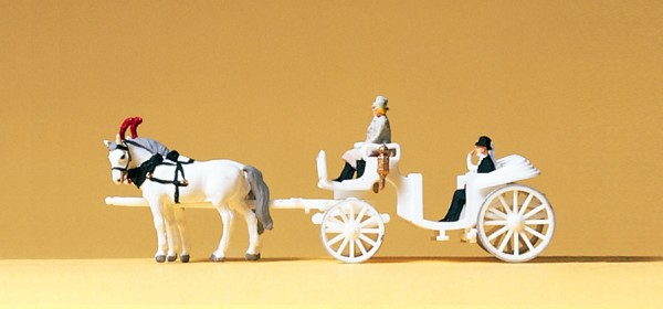 Preiser 79479 - Hochzeitskutsche offen