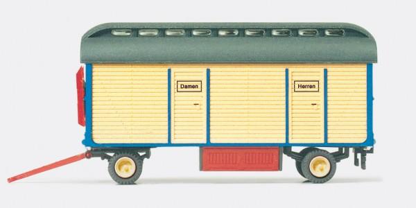 "Preiser 21025 - H0 - Toilettenwagen ""Zirkus Krone"""