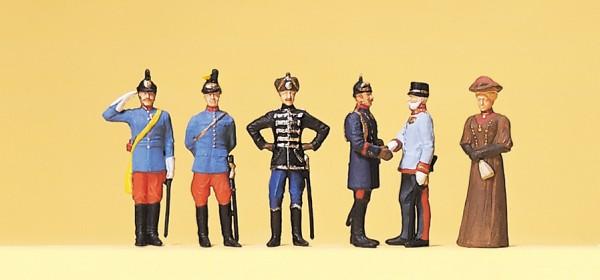 Preiser 12185 - H0 - Kaiser Wilhelm II und Kaiser Franz Joseph