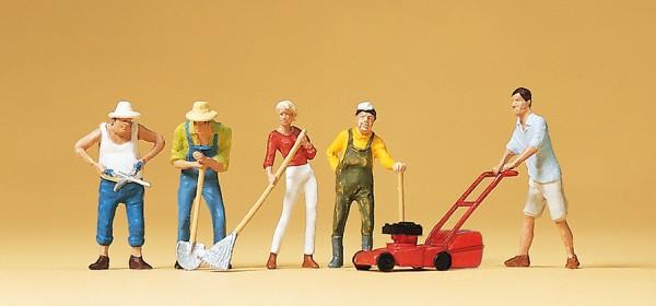 Preiser 10463 - H0 - Bei der Gartenarbeit