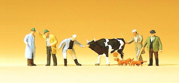 Preiser 75021 - TT - Viehhandel