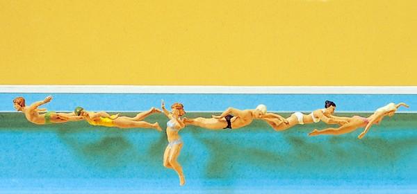 Preiser 10306 - H0 - Schwimmende