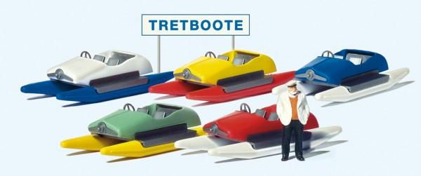 Preiser 10685 - Tretbootverleih