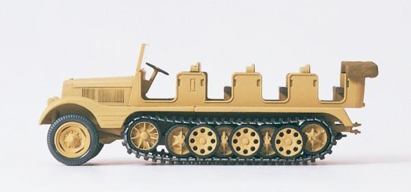 Preiser 16544 - H0 - Halbketten-Zugmaschine 3 to (SdKfz 11)
