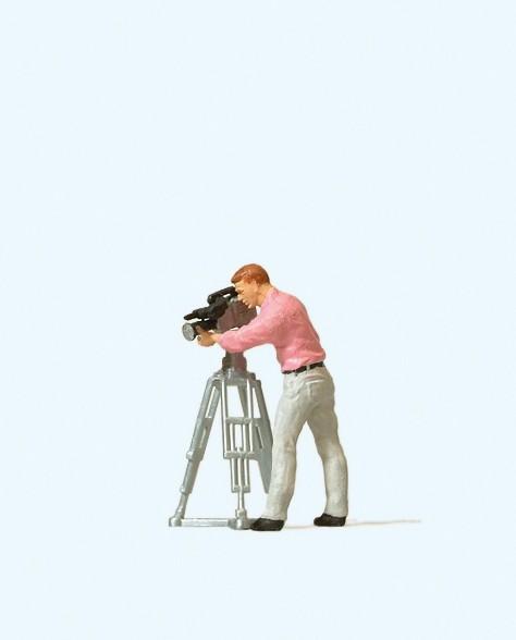 Preiser 28086 - H0 - Kameramann