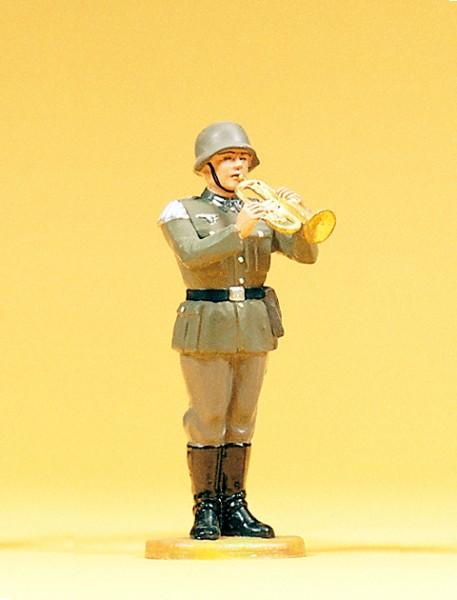 Preiser 56034 - Musiker stehend mit Trompete