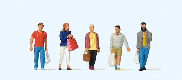Preiser 10673 - H0 - Shopping