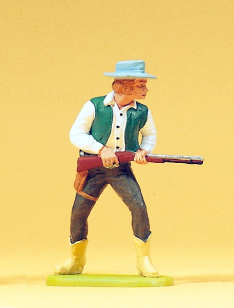 Preiser 54806 - 1:25 - Cowboy stehend mit Gewehr