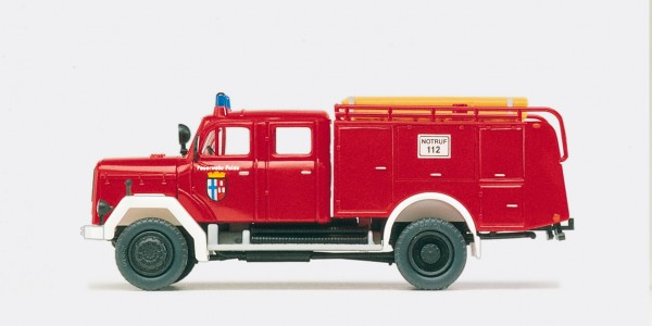 Preiser 31218 - H0 - Tanklöschfahrzeug TLF 16 Magirus F 150 D 10A
