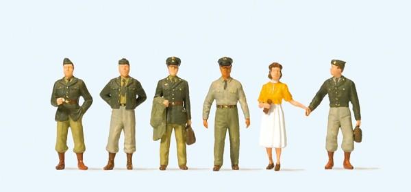 Preiser 10594 - H0 - US-Soldaten Fünfziger Jahre