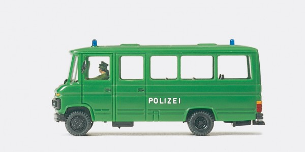 Preiser 37020 - H0 - Gruppenkraftwagen Grukw Polizei