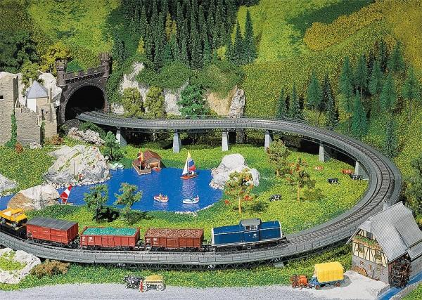 Faller 120478 - H0 - Viadukt-Oberteil gebogen R1