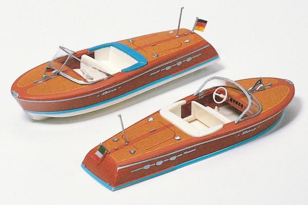 Preiser 17304 - H0 - 2 Motorboote
