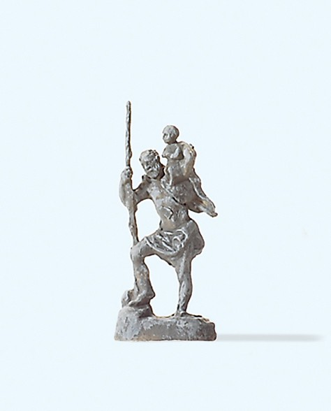 "Preiser 29102 - H0 - Statue ""Sankt Christophorus"""