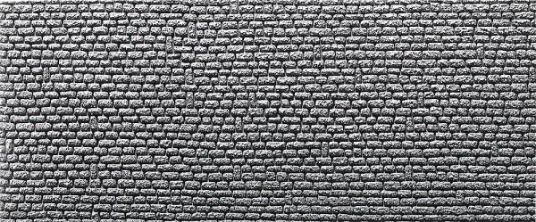 Faller 272650 - N - Dekorplatte Profi Naturstein Quader, 370 x 125 x 4 mm (2x)