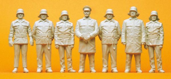 Preiser 57805 - 1:24 - Feuerwehrmänner BRD um 1985