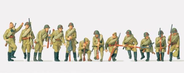 Preiser 16545 - H0 - Infanteristen aufgesessen