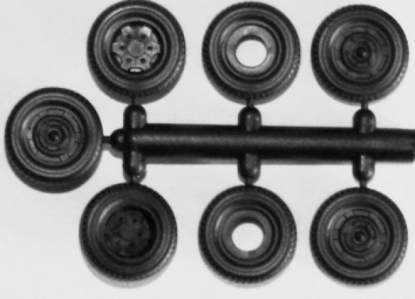 Hädl 910026 - TT - Rädersatz Magirus