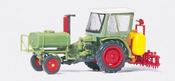 Preiser 17933 - H0 - Geräteträger mit Verdeck, Spritzgerät