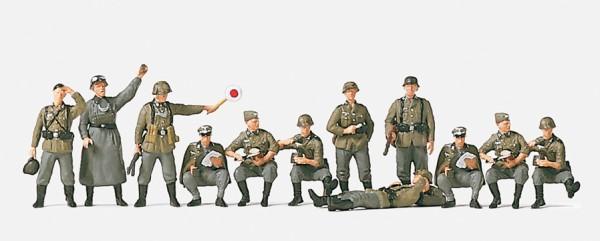 Preiser 16501 - Rastende Infanterie Feldgendarmen