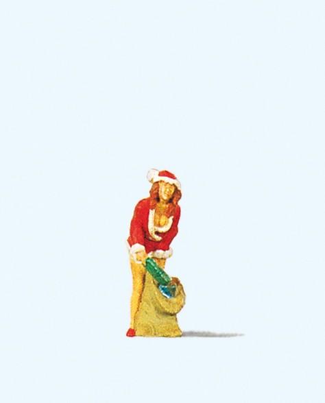 Preiser 29028 - Christmas Girl mit Gabensack