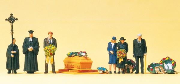 Preiser 10519 - H0 - Beerdigung, evangelischer Geistlicher