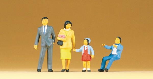 Preiser 65301 - 1:43/45 - Japanische Familie