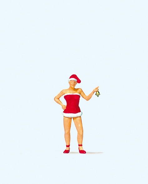 Preiser 29088 - H0 - Weihnachtsfräulein mit Glöckchen