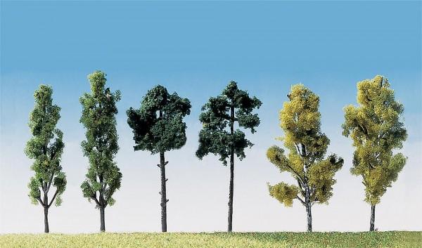 Faller 181488 - 6 Bäume sortiert, 60 mm