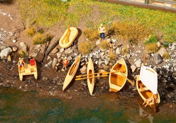 Faller 130513 - H0 - Boote und Tretboote