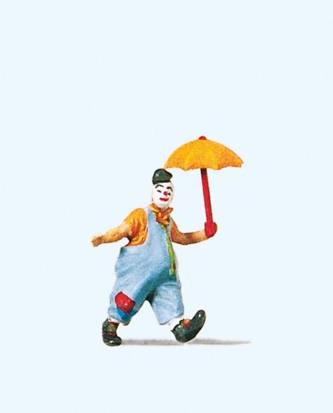 Preiser 29001 - H0 - Clown mit Schirm