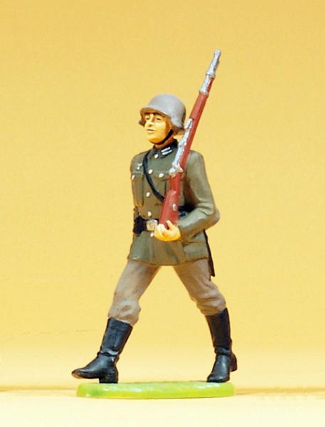 Preiser 56053 - 1:25 - Soldat im Marsch ohne Tornister