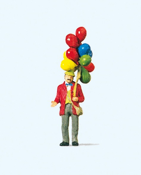 Preiser 29000 - H0 - Ballonverkäufer
