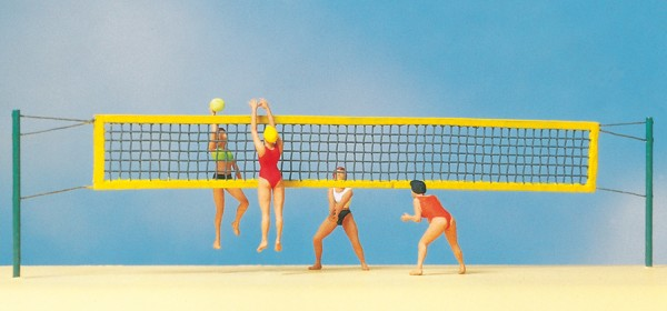 Preiser 10528 - H0 - Beach-Volleyball
