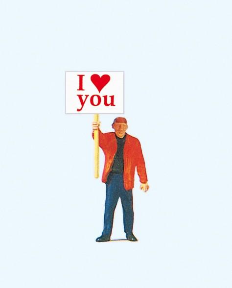 Preiser 29039 - H0 - I love you