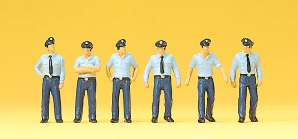 Preiser 10342 - H0 - Feuerwehrmänner in Sommeruniform