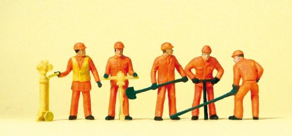 Preiser 14035 - Gleisbauarbeiter