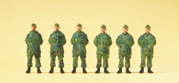 Preiser 16842 - H0 - Soldaten stehend