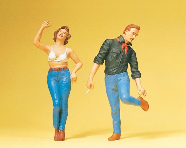 Preiser 45127 - G - Paar in Jeans