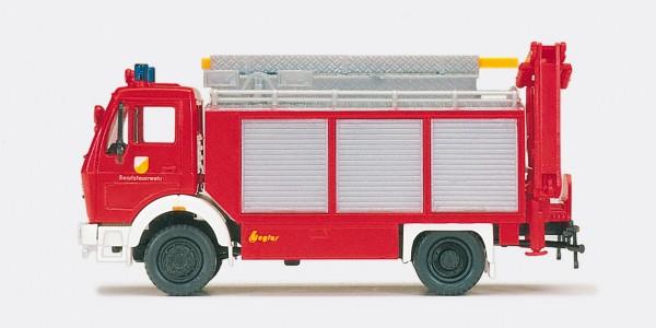Preiser 31182 - H0 - Rüstwagen RW-Kran MB 1017
